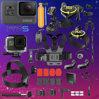$ CDN288.99 • Buy GoPro Hero 5 Black Edition Action Camera With 40 PCS Sports Accessory Bundle