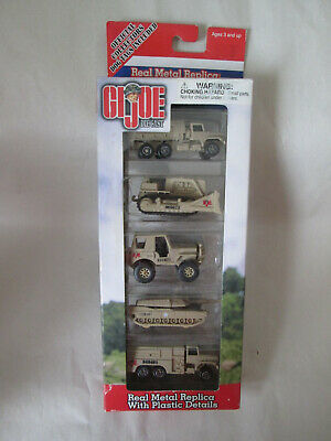 $ CDN27.77 • Buy Maisto Hasbro Gi Joe Diecast Replicas Military Vehicles 5 Pack W/Dog Tags #12138