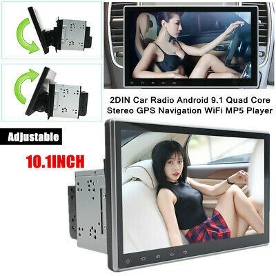 $221.99 • Buy 10.1 Touchable Double 2DIN Car Android 9.1 Stereo GPS Navigation WiFi MP5 Player