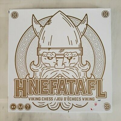AU107.70 • Buy Hnefatafl Viking Chess Game Solid Wood Board & Pieces Heavy Unique Brand New
