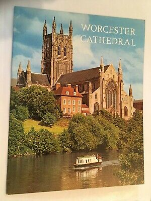 Worcester Cathedral Guide Book • 3.14£