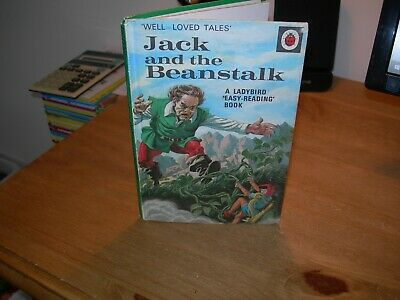 Ladybird Book JACK AND THE BEANSTALK Well Loved Tales 606D -  Good/Very Good - • 7.99£