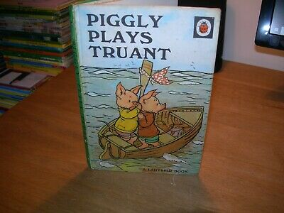 Vintage LADYBIRD Book Series 401 PIGGLY PLAYS TRUANT - Early Edition 1971 - GC • 3.99£
