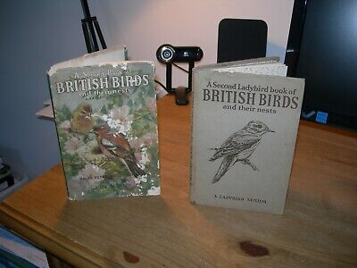 A Second Book Of British Birds And Their Nests (Ladybird Book - First Edition) • 9.99£