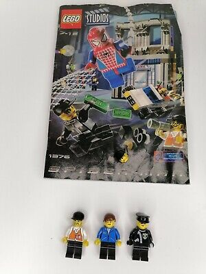 £9.99 • Buy Lego Studios Spider- Man, Manual And Some  Figures Only, From Set ,1376