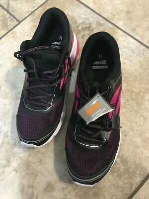 Avia T-Shoes Women Arch Support Casual  Size 11 Pink/Black. • 13.39£