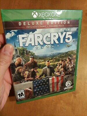 AU70.28 • Buy Xbox One Far Cry 5 Farcry Deluxe Edition BRAND NEW FACTORY SEALED READ