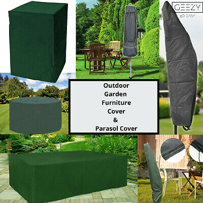 £8.39 • Buy Garden Furniture Covers Waterproof Outdoor Patio Table Chairs Parasol Cover
