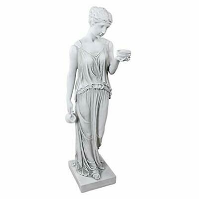 Design Toscano Hebe The Goddess Of Youth Greek Garden Statue, Large 81 Cm, • 205.99£
