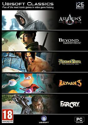 AU28.88 • Buy PC NEW SEALED 5 Game Pack - Ubisoft Classics Inc Assassin's Creed, Far Cry +more