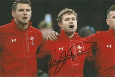 £19.99 • Buy WALES RUGBY UNION: LEIGH HALFPENNY SIGNED 6x4 ACTION PHOTO+COA