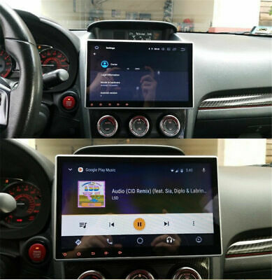 $237.58 • Buy Double 2DIN Rotatable 10.1'' Android 9.1 Touch Screen Car Stereo Radio GPS Wifi