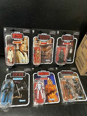 "$ CDN150 • Buy Star Wars Vintage Collection Lot 6 Figures 3.75"" New Hasbro"