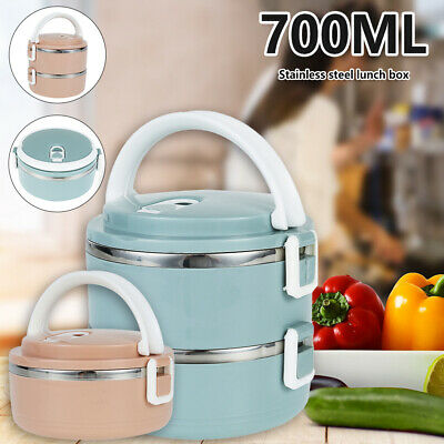 AU15.71 • Buy Portable Food Warmer Kids School Lunch Box Thermal Insulated Food Container