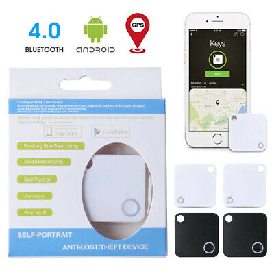 4pcs Tile Slim Combo Pack GPS Bluetooth Tracker Key Finder Anything Locator Tool • 9.42£
