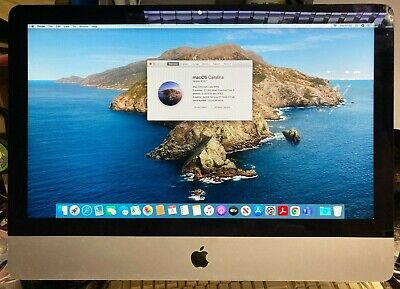 Apple IMac Core I5 2.7GHz 500GB SSD Drive 8GB Ram 21.5 Inch Late 2012  • 349£