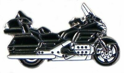 Motorbike Motorcycle Goldwing Black Metal Enamel Pin Badge  • 2.49£