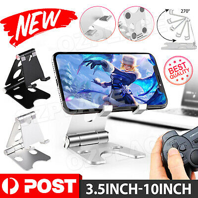 AU8.35 • Buy Universal Folding Aluminum Tablet Mount Holder Stand Portable For IPhone Samsung