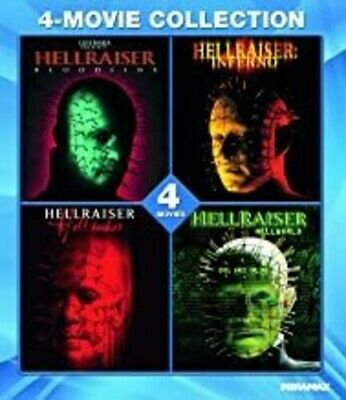 Hellraiser - 4 Movie Pack - 4 5 6 & 8   - Blu Ray - Region Free • 23.79£