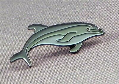 Dolphin Aquatic Marine Mammal Metal Enamel Pin Badge Sea Creature • 2.49£