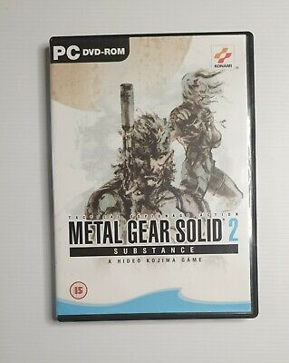 AU29.95 • Buy Metal Gear Solid 2 Substance PC DVD ROM FREE POSTAGE A
