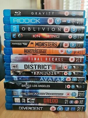 Blu-Ray Sci-Fi Collection - All Free 1st Class Postage, Discounts Available  • 4.99£