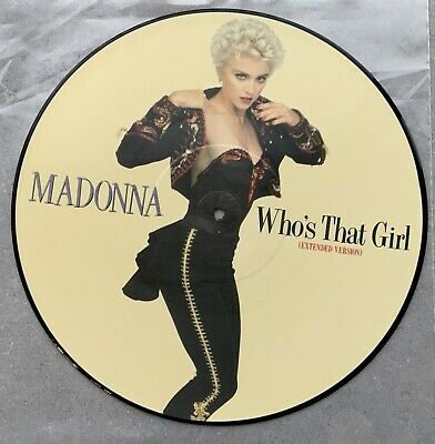 £67.99 • Buy Madonna Who's That Girl - Picture Disc Vinyl - Limited Edition - Very Rare