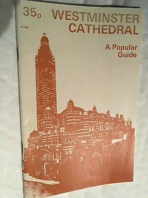 WESTMINSTER CATHEDRAL - A Popular Guide • 3.99£