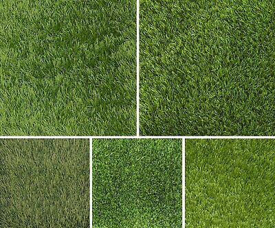 £179.85 • Buy 5m Wide Artificial Grass Astro Selection 30mm 40mm 45mm Lawn Garden Cheap Fake