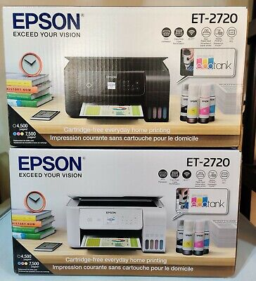View Details Epson EcoTank ET-2720 All-In-One Supertank Color Printer (White) NEW SHIP FAST! • 299.00$