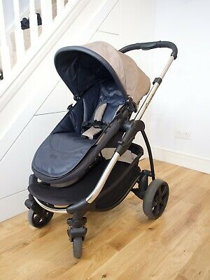 ICandy Strawberry 2 Pushchair With Chrome Chassis And Carrycot In Tudor • 160£