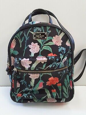$ CDN56.38 • Buy Kate Spade New York Small Bradley Wilson Road Hummingbird Floral Backpack