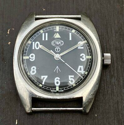 $ CDN790.59 • Buy Auth CWC Cabot Watch Company W10 Reissue Manual Winding Stainless Steel 1998