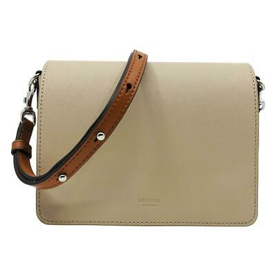 AU120 • Buy Oroton Small Beige Saffiano Leather Cross Body Bag