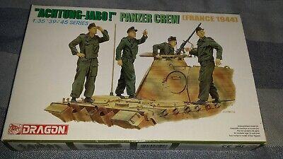 New Dragon 1/35th WWII German  Achtung Jabo!  Panzer Crew  Figure Kit (#6191). • 8.50£