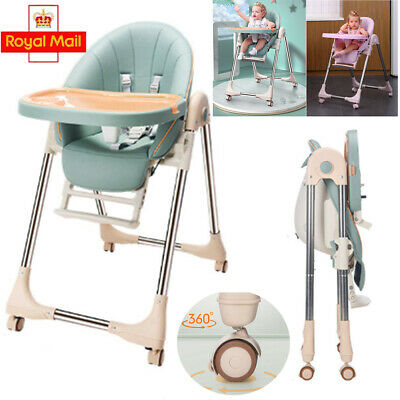 £49.99 • Buy 5in1 Foldable Baby Highchair Infant Adjustable Feeding Seat Toddler Table Chair