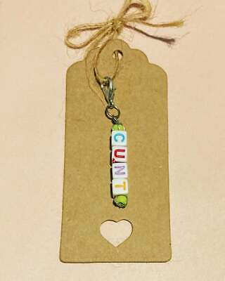 £2.99 • Buy Handmade Insult Keyring Charms - Perfect Surprise Gift - Swear Rude Gifts Funny