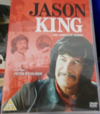 PETER WYNGARDE - JASON KING (1971/1972) - 2017 NETWORK 8xDVD BOX SET • 29£