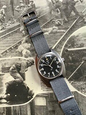 $ CDN1546.15 • Buy CWC Cabot Watch Company W10 1979 British Army Military Issued Mechanical Watch