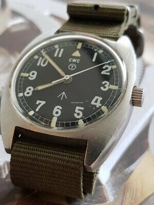 $ CDN2012.68 • Buy Authentic CWC Cabot Watch Company W10 6645-99 Stainless Steel Manual Winding