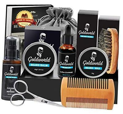 Beard Kit,Beard Growth Kit,Beard Grooming Kit W/Beard Mustache Wax,Beard  • 20.91£