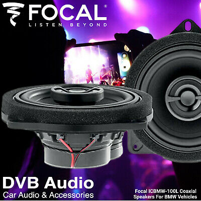 £149.90 • Buy Focal IC BMW 100L BMW 1 Series F20 2-Way Factory Fit Upgrade Front Car Speakers