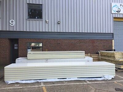 £90 • Buy Cold Room Smooth Insulated Panels,1150mm Width- 3000mm Length- 80mm Thickness