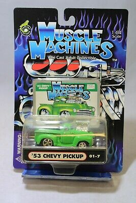 AU8.89 • Buy Muscle Machines 1:64 Scale '53 Chevy Pickup 2001 01-7