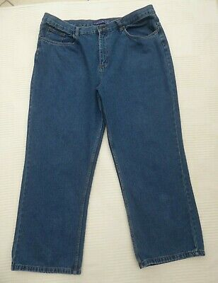 Atlantic Bay Mens Reg Fit Relaxed/baggy ? Jeans W 42.5  I'lg 28.5  Label W 42 • 8.99£