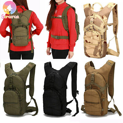 AU34.99 • Buy 15L Molle Tactical Backpack Military Hiking Camping Outdoor Cycling Sport Bag