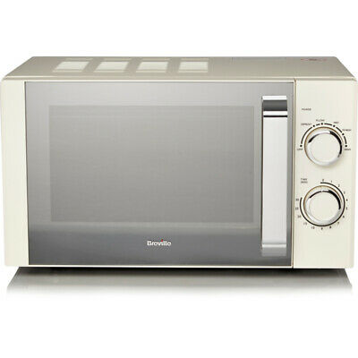 £76.99 • Buy (TOP QUALITY) 17L Breville Manual Microwave - Cream 800W