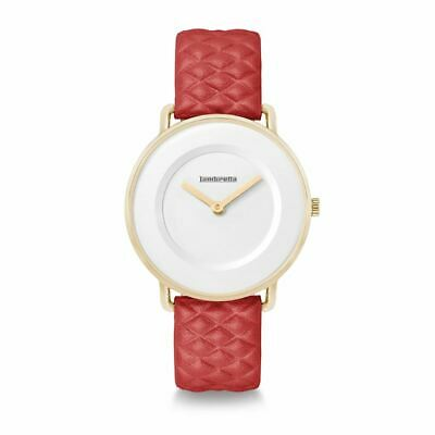 Lambretta Ladies Womens Mia 34 Quilted Red Wrist Watch 2257RED • 39.99£