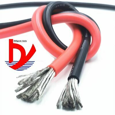 AU25.40 • Buy Wire Cable Soft Silicone Wire 11AWG 10AWG 9AWG 8AWG 7AWG 6AWG 4AWG 35mm 50mm 70m