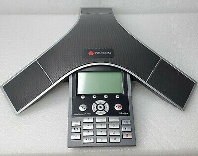 £34.94 • Buy Polycom Soundstation IP7000 IP Conference VolP Phone 3 Way Call Capability